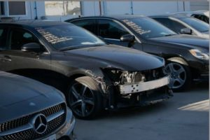 Head-On Crash Damage